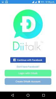 diitalk ফ্রি কল করুন