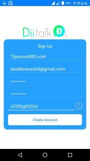 diitalk free call refar code