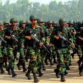 নির্বাচনে বাংলাদেশ সেনাবাহিনী